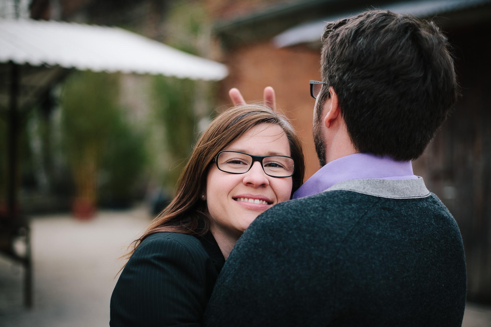 Verena und Rainer Engagement Foto Avec Amis-29
