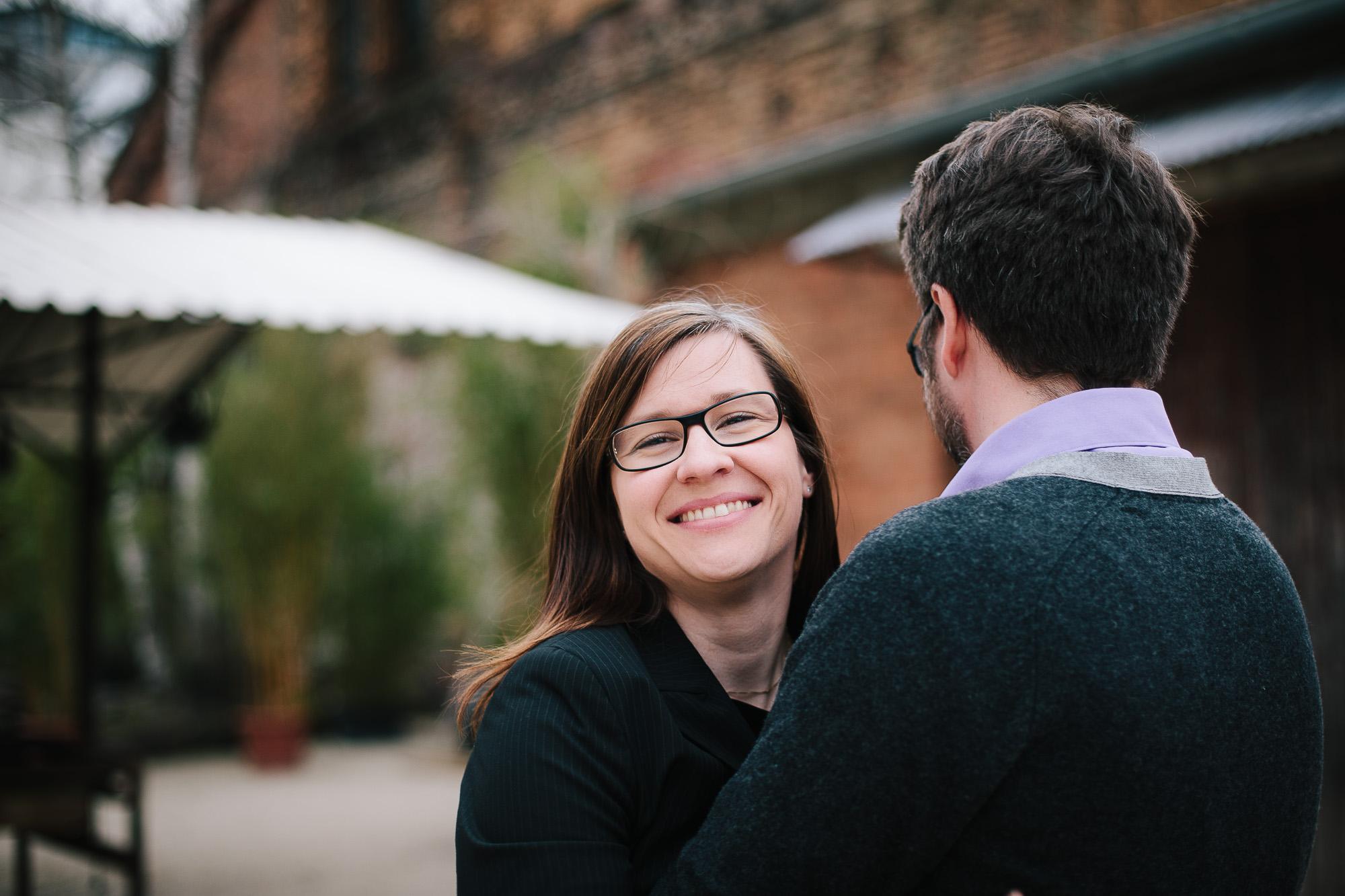 Verena und Rainer Engagement Foto Avec Amis-30