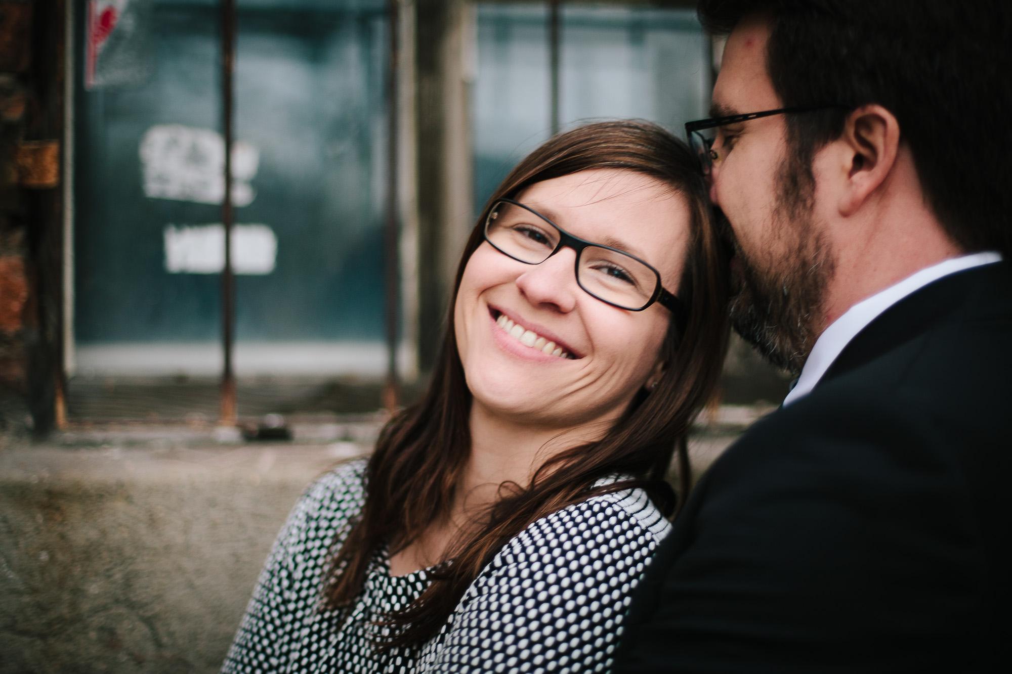 Verena und Rainer Engagement Foto Avec Amis-46
