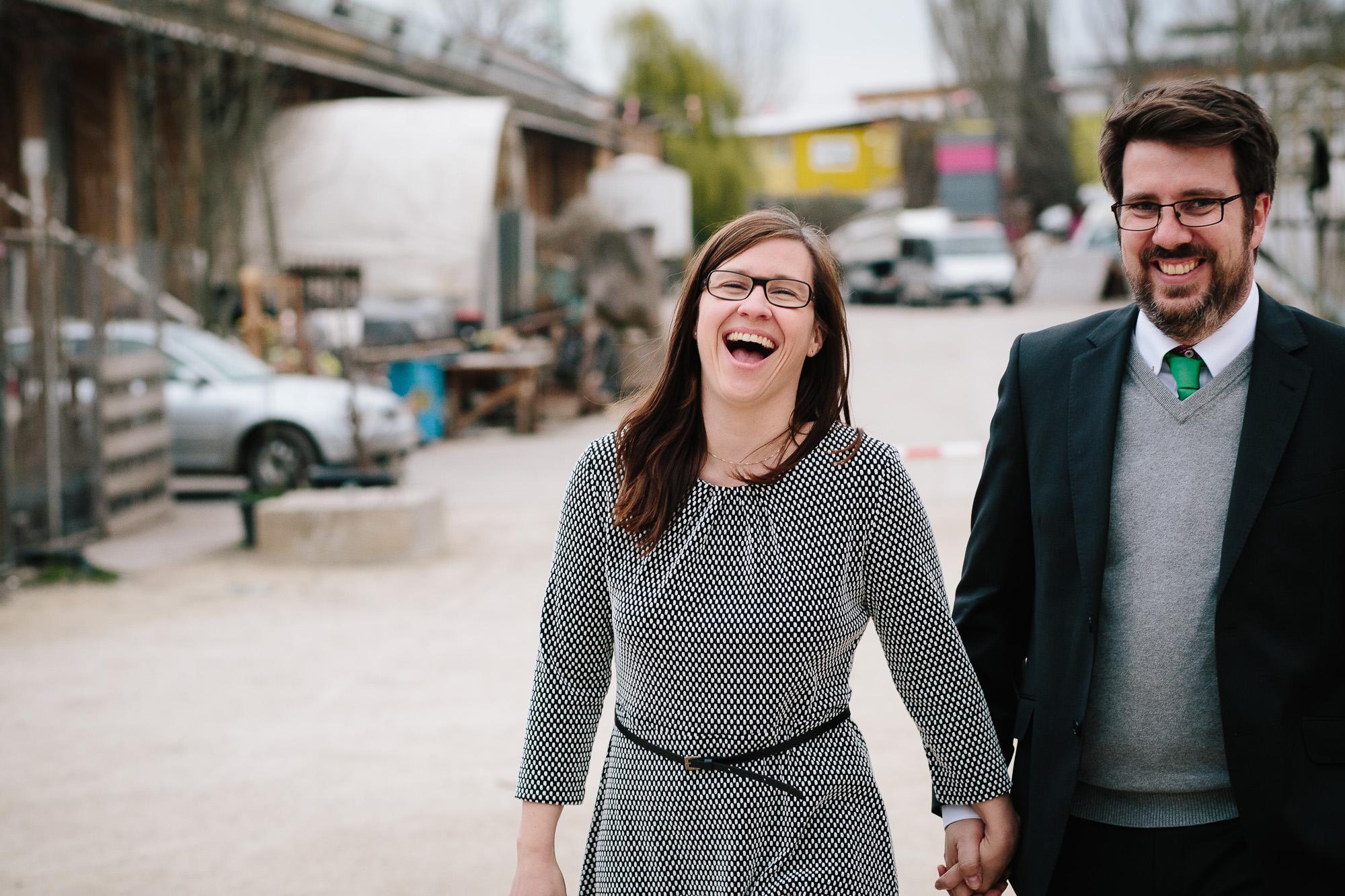 Verena und Rainer Engagement Foto Avec Amis-61