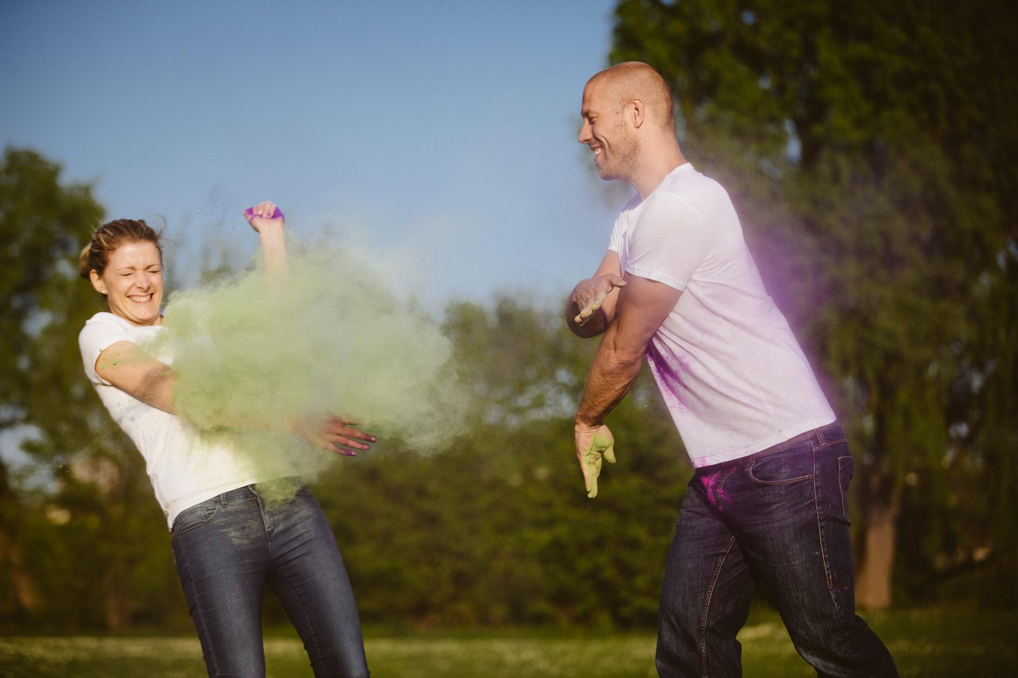 Karo und Stefan Engagement Foto Avec Amis-129