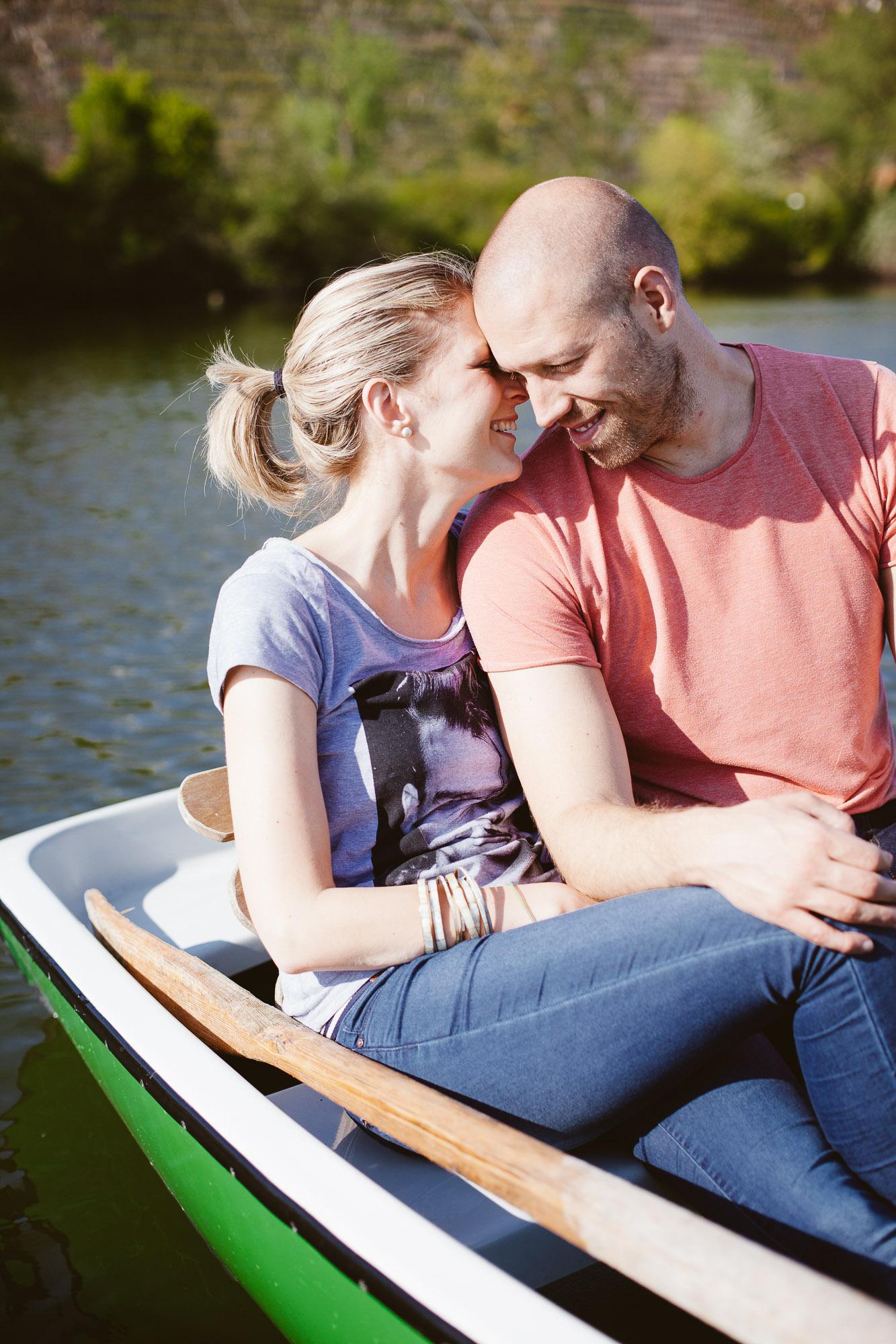 Karo und Stefan Engagement Foto Avec Amis-31