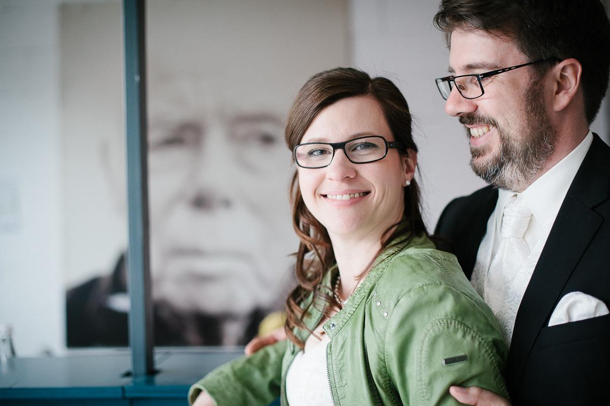 Verena und Rainer-Foto Avec Amis-Farbe-441