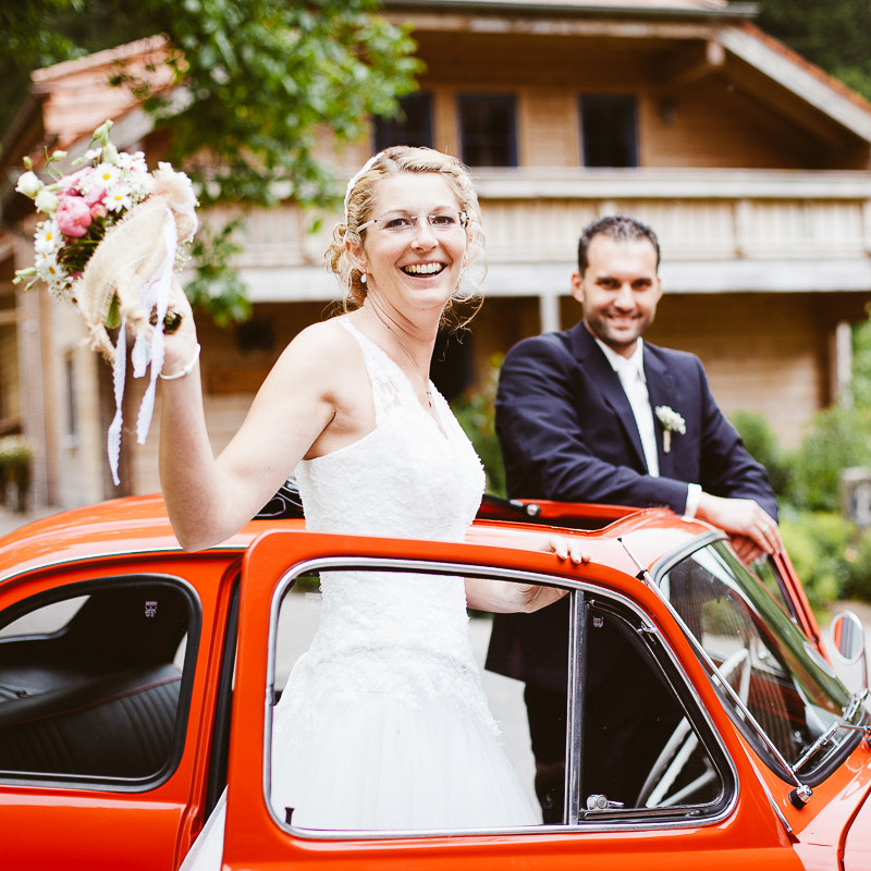Melli und Andy Hochzeitsreportage Foto Avec Amis Square